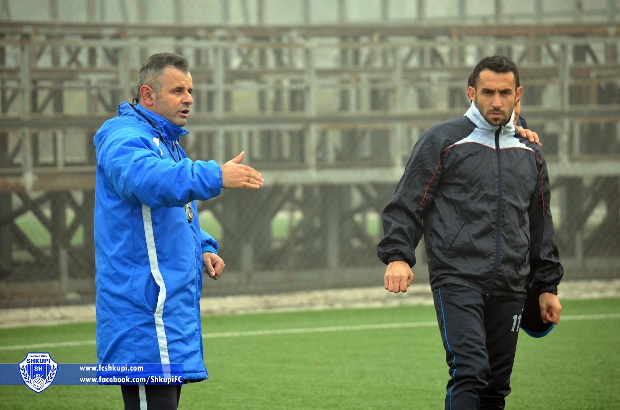 Trajneri Visar Ganiu dhe Ardian Nuhiu