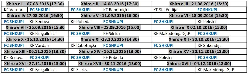 Shorti i FC Shkupi