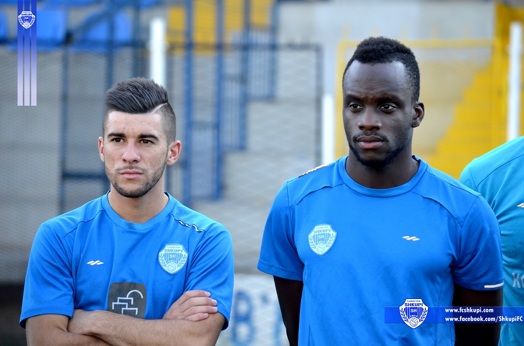Florian Kadriu dhe Bruno Gomis