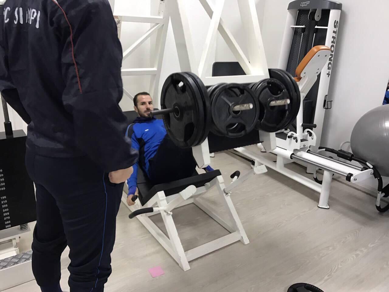 Stervitje ne Shkupi Gym